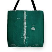 Fountain Pen Patent Drawing 1a Tote Bag