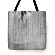Fountain Play Tote Bag