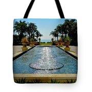 Fountain Pool Tote Bag