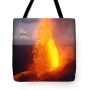 Fountaining Kilauea Tote Bag