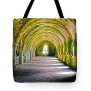 Fountains Abbey, Vaulted Chamber Tote Bag