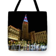 Fountains At The Tower Tote Bag