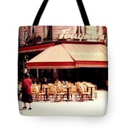 Fouquets Of Paris 1955 Tote Bag