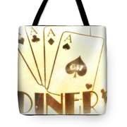 Four Aces Diner Tote Bag