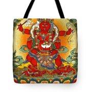 Four Armed Dzambhala Tote Bag