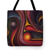 Four Ball In The Side Pocket Tote Bag