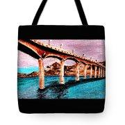 Four Bears Bridge Tote Bag