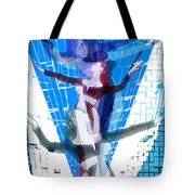 Four Blue Angels Tote Bag
