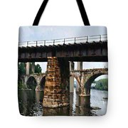 Four Bridges Of East Falls Tote Bag