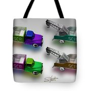Four By Four Tote Bag