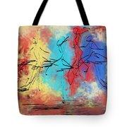 Four Dancers Tote Bag
