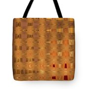 Four Eggplant Fruits Abstract Tote Bag