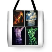 Four Elements Tote Bag by Arla Patch