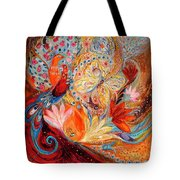 Four Elements IIi. Fire Tote Bag