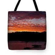 Four Elements Sunset Sequence 2 Coconuts Qld Tote Bag