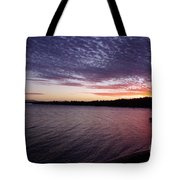 Four Elements Sunset Sequence 4 Coconuts Qld  Tote Bag