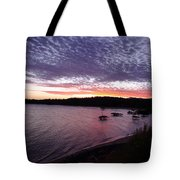 Four Elements Sunset Sequence 6 Coconuts Qld  Tote Bag