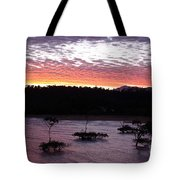 Four Elements Sunset Sequence 8 Coconuts Qld  Tote Bag
