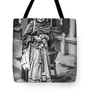 Four Foot Nuthin' 2 Bw Tote Bag