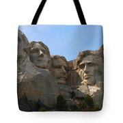 Four Former U S Presidents Tote Bag