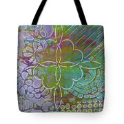Four Hearts Intertwined Tote Bag