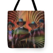 Four Horsemen - Square Version Tote Bag