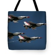 Four In Flight Tote Bag