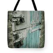 Four Latches Tote Bag