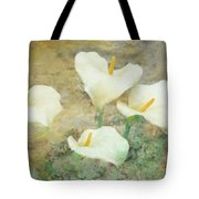 Four Lilies Tote Bag
