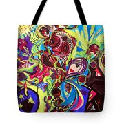 Experimenting With Creation Tote Bag
