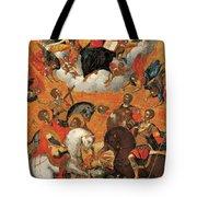 Four Military Saints Tote Bag