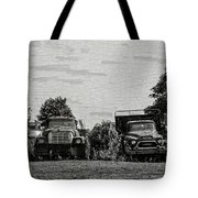 Four Old Friends Tote Bag