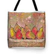 Four Pair Of Pears Tote Bag