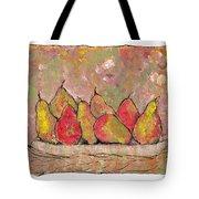 Four Pair Of Pears Tote Bag