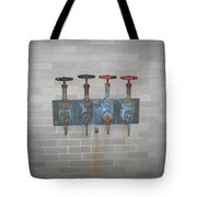 Four Pipes Tote Bag