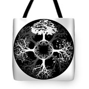Four Seasons Of Tree Tote Bag