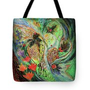 Four Seasons Of Vine Summer Tote Bag