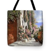 four seasons- spring in Tuscany Tote Bag