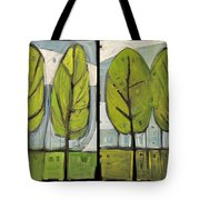 Four Seasons Tree Series Tote Bag