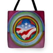 Four Star Button Tote Bag