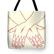 Fourteenth Station- Jesus Is Laid In The Sepulcher  Tote Bag