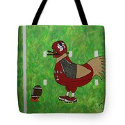 Fourth And Goal Tote Bag