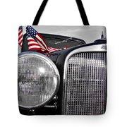 Fourth Of July-chevvy  Tote Bag by Douglas Barnard