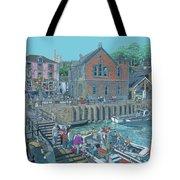Fowey Cornwall Tote Bag