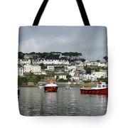 Fowey Harbor Cornwall Tote Bag