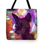 Fox Animal Tuscany  Tote Bag
