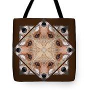 Fox Close Up Tote Bag
