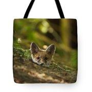 Fox Hole Tote Bag