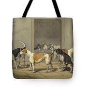 Fox Hounds Tote Bag