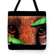 Fox In Hiding Tote Bag